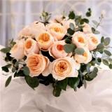 Роза пионовидная Д. Остина Juliet (1 саженец) описание, отзывы, характеристики