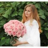 Роза пионовидная Д. Остина Pink O'Hara (1 саженец) описание, отзывы, характеристики
